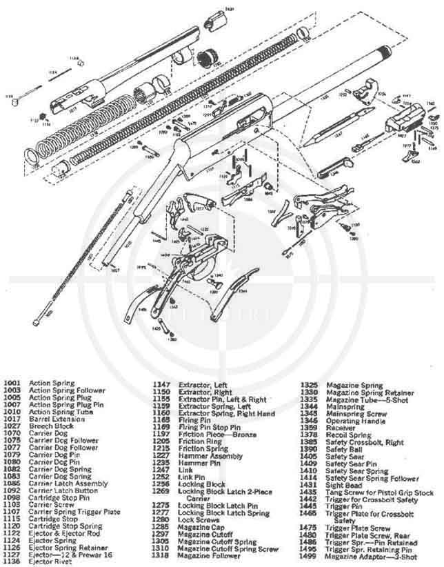 drawings scheme gun - Cхемы и описания на каждый день.
