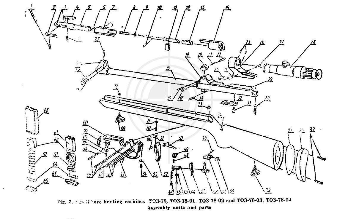 mystery scope on toz78 parts diagram rh forums gunboards com Russian Mosin Nagant Parts mosin nagant 91/30 parts diagram